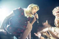 Sky Ferreira Takes a Well-Deserved Bow at NYC's Webster Hall