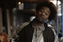 Danny Brown in the 'Like a Rolling Stone' video