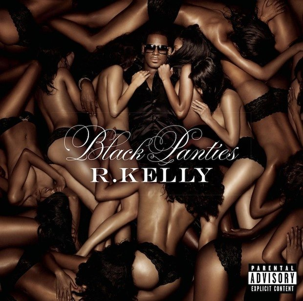 R. Kelly, 'Black Panties,' deluxe edition, cover art