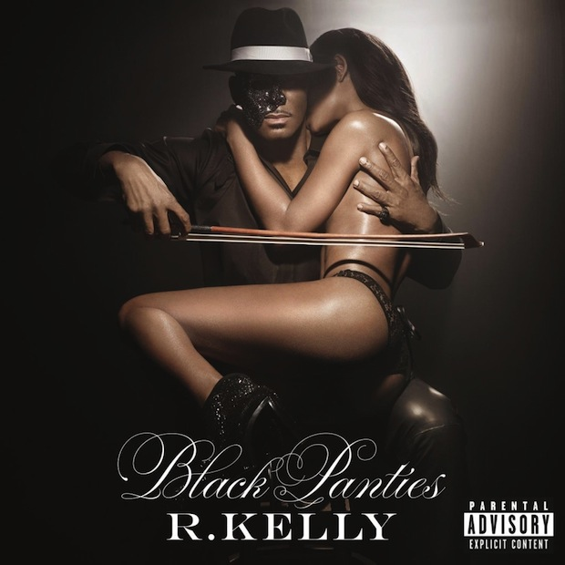 R. Kelly, 'Black Panties,' standard cover art