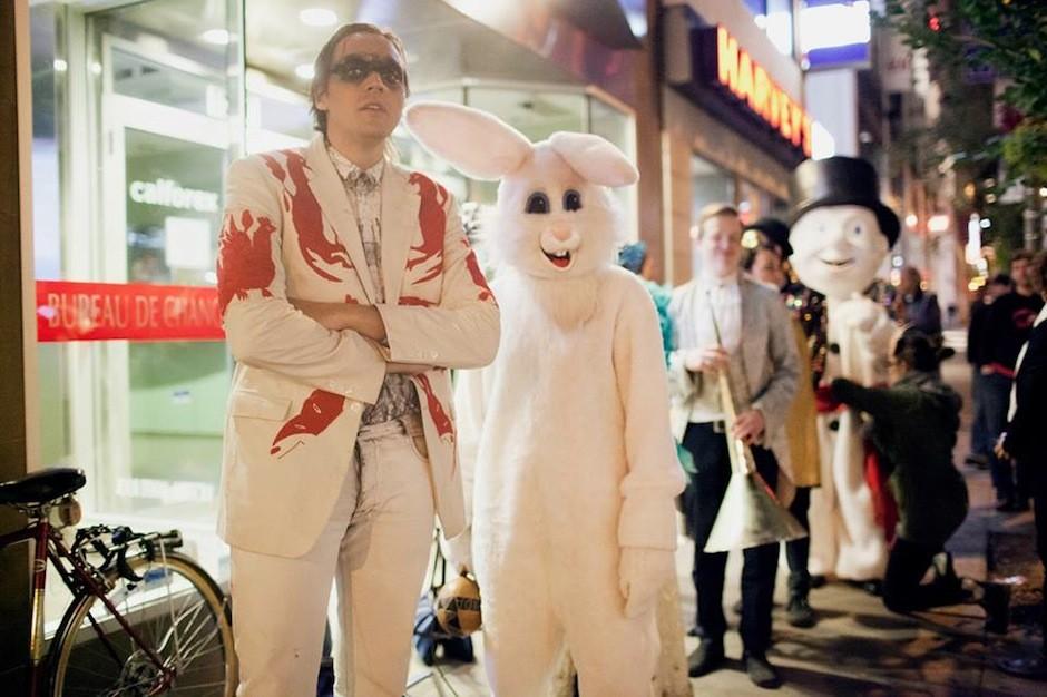 Arcade Fire, dress code, statement, please relax