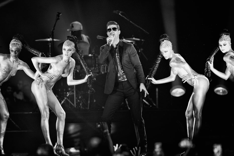 "Robin Thicke, feat. T.I. and Pharrell – ""Blurred Lines"""