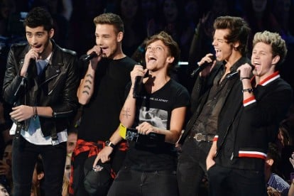 One Direction Pour Some Sugar on You on the Audacious, Priapic 'Midnight Memories'