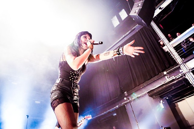 Sleigh Bells at Terminal 5, New York, November 22, 2013 / Photo by Krista Schlueter