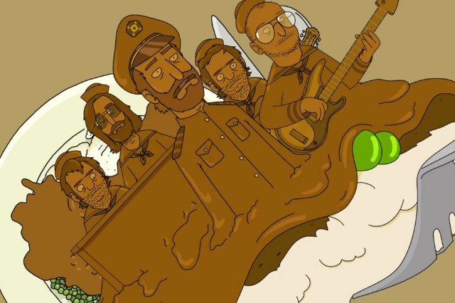 the national, thanksgiving, gravy, bob's burgers