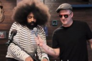 See Reggie Watts and Josh Homme Duet About 'Taxidermy Love'
