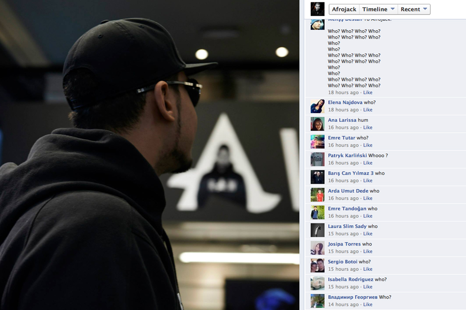 Afrojack (who?) and his trolls