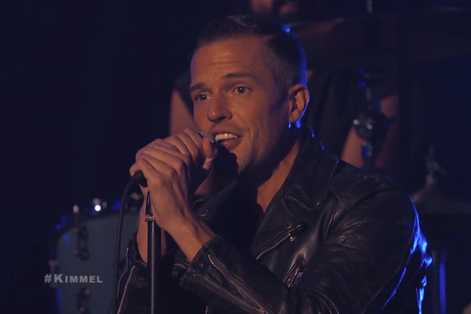 Watch the Killers' Hit-or-Miss 'Shot at the Night' on 'Kimmel'