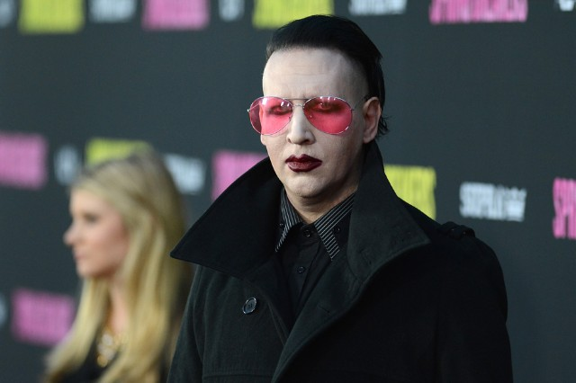 marilyn manson, bret easton ellis