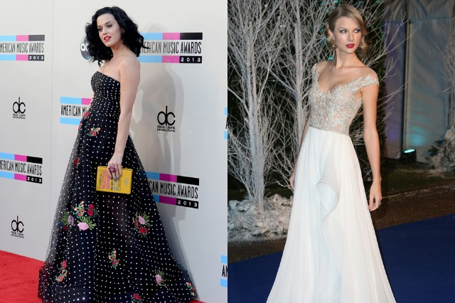 grammy nominations concert, katy perry, taylor swift