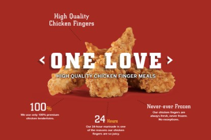 Bob Marley Raising Canes One Love Lawsuit Chicken Fingers