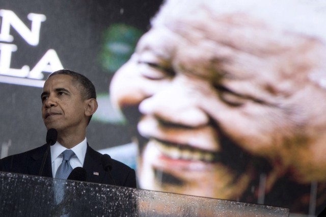 Nelson Mandela, Obama, memorial, eulogy, South Africa, Toto