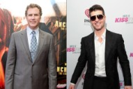 Hear Robin Thicke and Will Ferrell's Ron Burgundy Go Yacht Rock