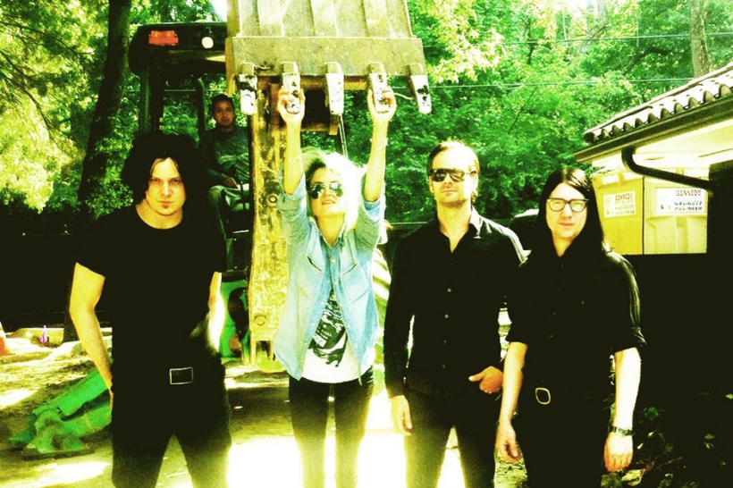 """Dead Weather, Jack White, """"Open Up (That's Enough),"""" stream"""