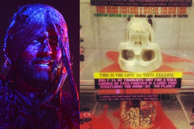 Eat A Skull For Flaming Lips 1984 Reissue A Brain For