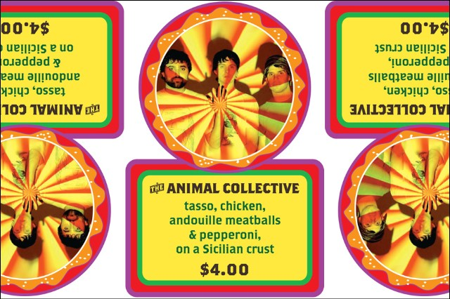 Animal Collective Stephen Malkmus Pizza Ice Cream