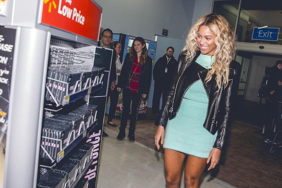 Beyoncé, Amazon, Target, Walmart