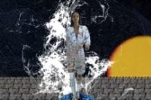 Yeasayer Chris Keating Interactive Fashion Show