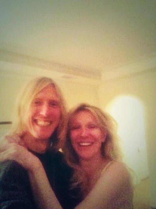 Courtney Love Hole Reunion Photo Eric Erlandson Twitter