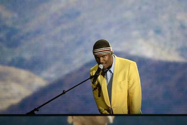 Frank Ocean, running on our minds. / Photo by Getty Images