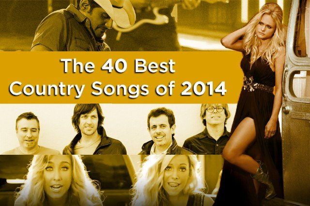 spin, 40 best country songs of 2014, best of 2014