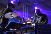 SBTRKT and Sampha at Coachella, 2012