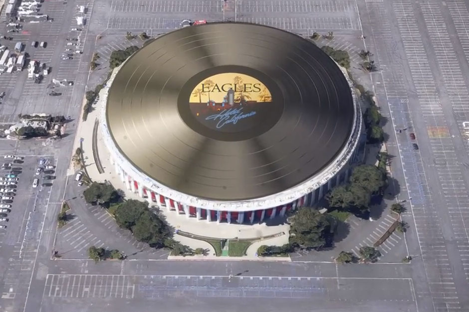 The Eagles 407 Foot Hotel California Is The World