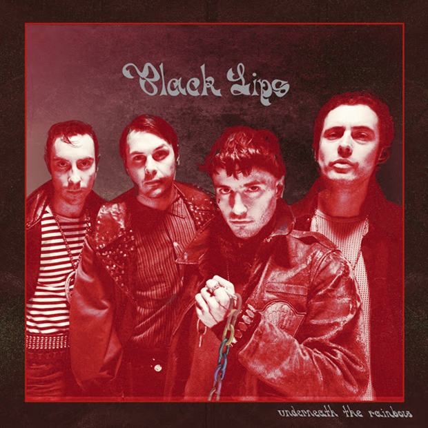 Black Lips Underneath Rainbow Cover Tour Album
