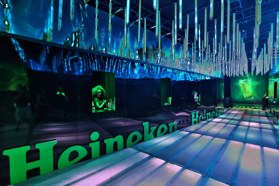 Heineken House at Miami's Ultra Music Festival, 2013