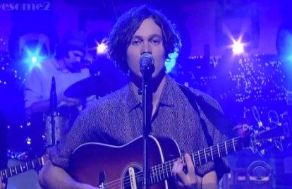 Washed Out Confidently Bare 'All I Know' on 'Letterman'