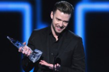 justin timberlake, people's choice awards 2014, the 20/20 experience