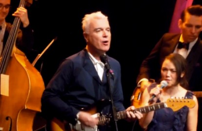 Watch David Byrne Revive the Talking Heads' 'And She Was' With Jherek Bischoff