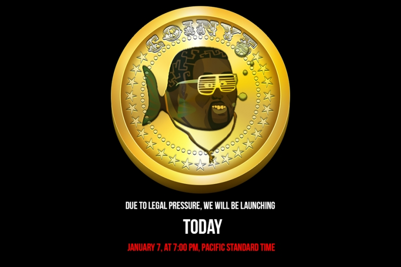 kanye west, coinye west, cryptocurrency