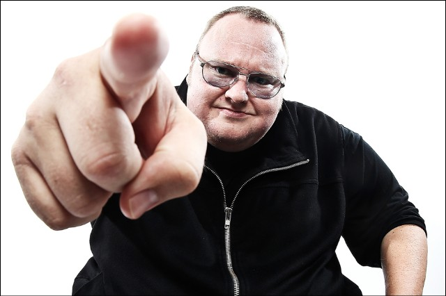 Kim Dotcom MegaUpload Political Party New Zealand Megaparty