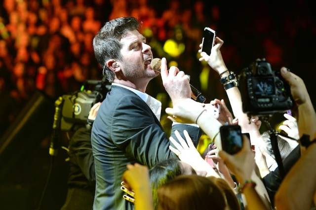 Robin Thicke, Marvin Gaye, lawsuit, settlement, Sony/ATV, Emi April