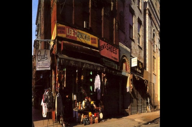 Beastie Boys, square, 'Paul's Boutique,' Ludlow, Rivington, street corner