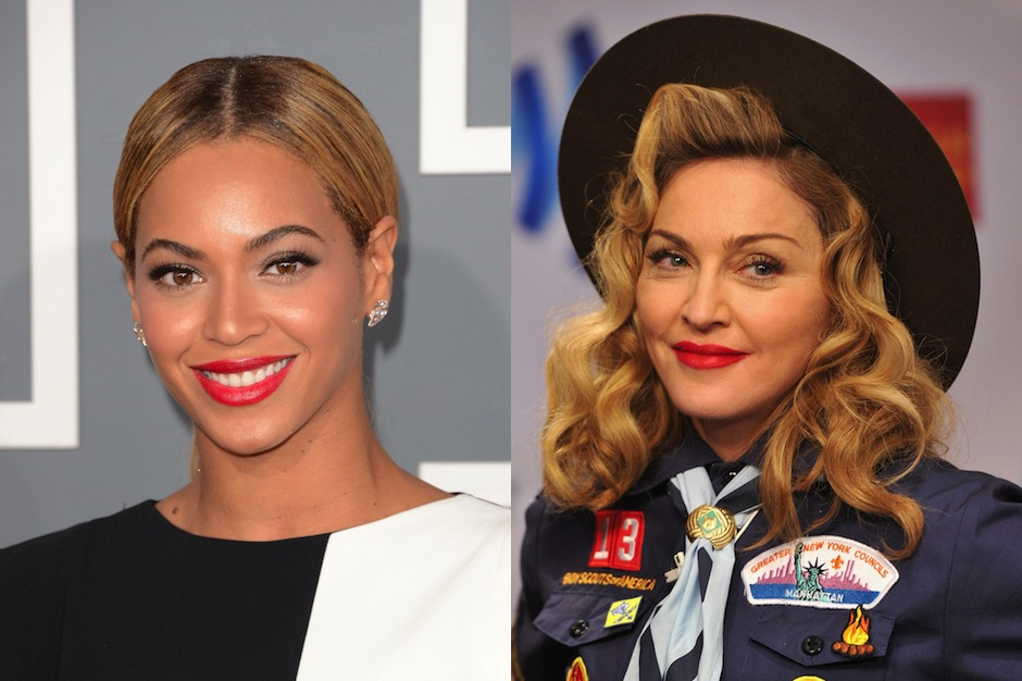 beyonce and madonna will reportedly perform at 2014