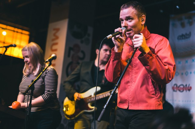 Belle & Sebastian at Sundance Music Café, Park City, Utah, January 20, 2014 / Photo by Loren Wohl