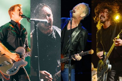 Queens of the Stone Age, Nine Inch Nails, Lindsey Buckingham, and Dave Grohl