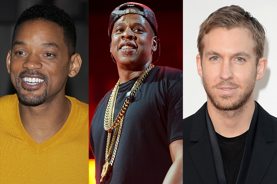 will smith, jay z, calvin harris, hbo, electronic music comedy