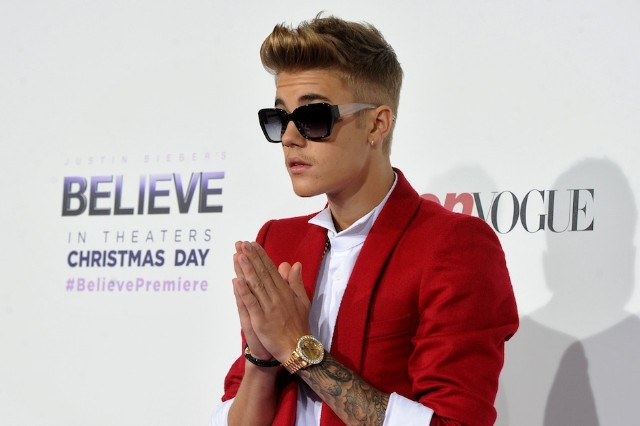 Justin Bieber, arrest