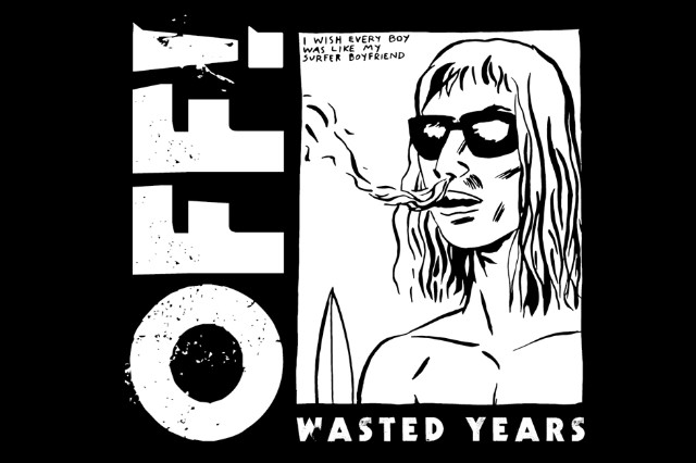 OFF! 'Void You Out' Stream Wasted Years Keith Morris