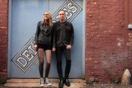 Aimee Mann and Ted Leo, as the Both, Bronze the Fonz on Punchy 'Milwaukee'