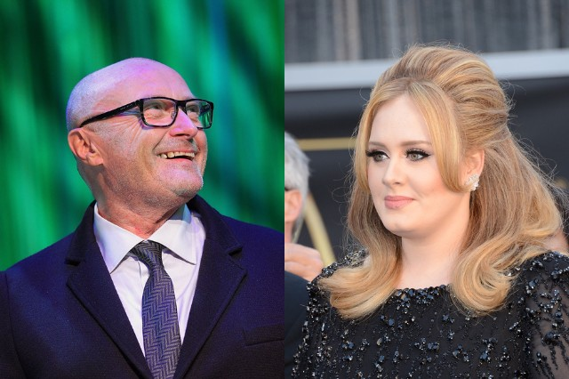 Adele Phil Collins Working Together New Album