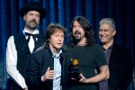 Dave Grohl and Paul McCartney Adorably Accept the Best Rock Song Grammy