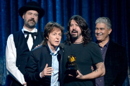 sirvana, paul mccartney, nirvana, cut me some slack, dave grohl, grammys 2014