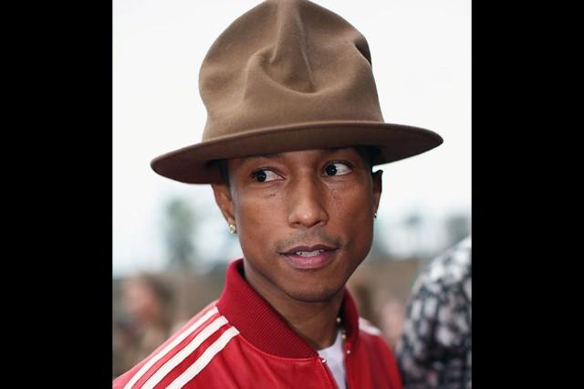 WORST: Pharrell's Twitter-Enflaming Hats