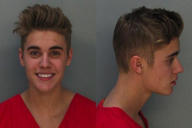 Justin Bieber, arraignment, Valentine's Day