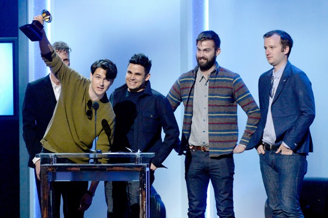 Vampire Weekend Trent Reznor Grammys Mad Nine Inch Nails