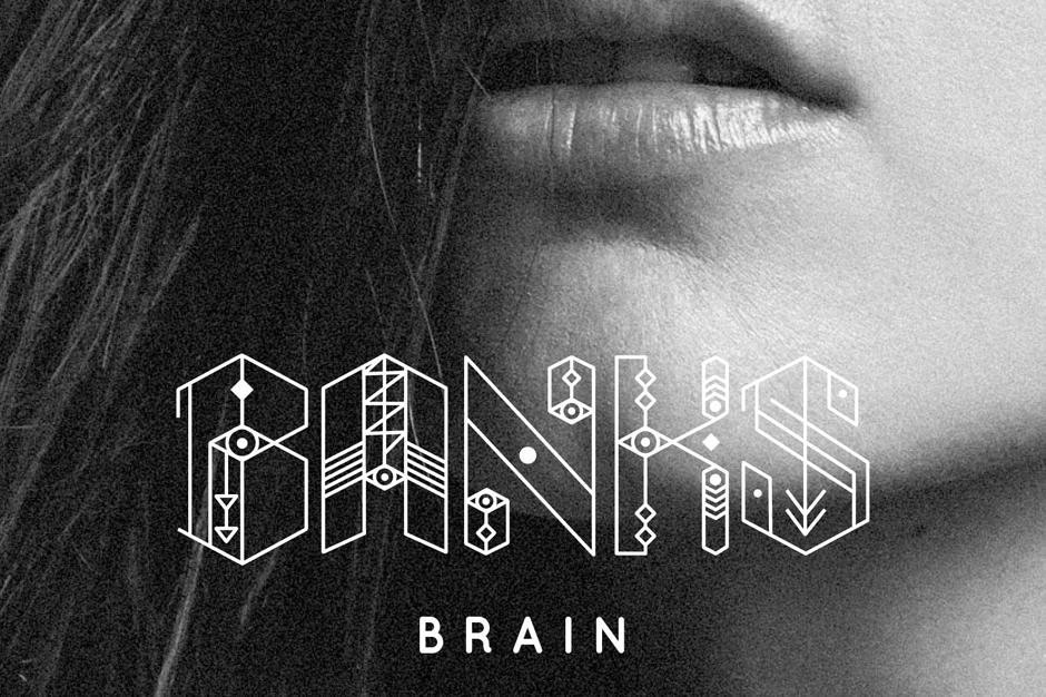 Banks Shlohmo 'Brain' Stream Wedidit Los Angeles